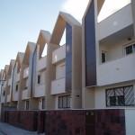 Fachada de viviendas